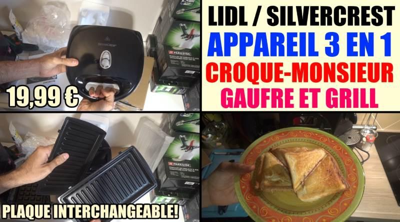 appareil croque monsieur gaufre grill lidl silvercrest ssmw 750 b2. Black Bedroom Furniture Sets. Home Design Ideas