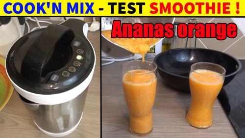 smoothie-ananas-orange-carotte-mixeur-cuiseur-lidl-silvercrest-coock-n-mix-smk-1000w-accessoires-test-avis-prix-notice-carcteristiques-forum