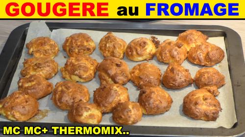 Gougere au fromage monsieur cuisine plus lidl silvercrest thermomix recette - Monsieur cuisine plus vs thermomix ...