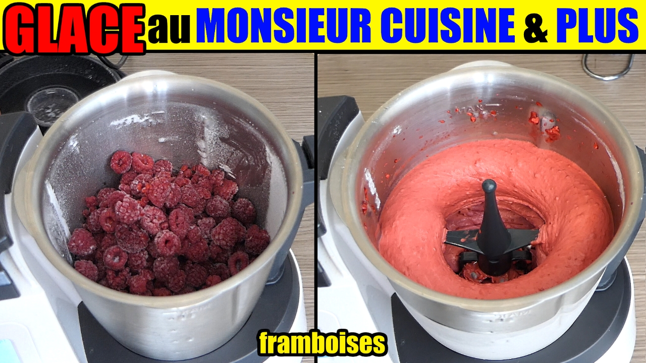 glace monsieur cuisine plus lidl silvercrest thermomix recette. Black Bedroom Furniture Sets. Home Design Ideas