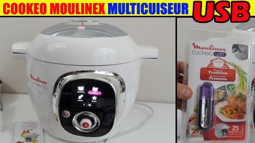 Moulinex Cookeo Usb Coonect Multicuiseur 1600w 6l