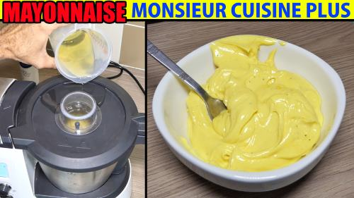 recette mayonnaise monsieur cuisine plus lidl silvercrest thermomix. Black Bedroom Furniture Sets. Home Design Ideas