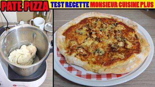 Recette Pate A Pizza Monsieur Cuisine Plus Cuistovideo Fr