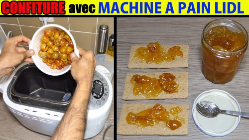 confiture a la machine a pain