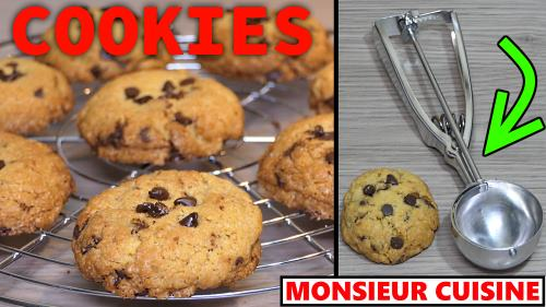 Cookies Au Monsieur Cuisine Connect Recette Thermomix