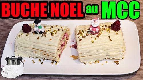 buche-de-noel-monsieur-cuisine-connect-framboise-chocolat-blanc-thermomix