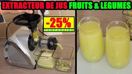 extracteur-de-jus-HOMEVER-fruit-legume-test-avis
